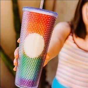 Starbucks Rainbow Pride Tumbler Cup RARE
